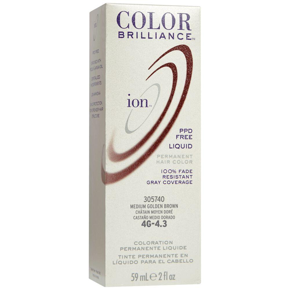 Ion Color Brilliance Permanent Liquid Hair Color 4g Medium