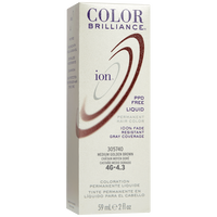 4G Medium Golden Brown Permanent Liquid Hair Color