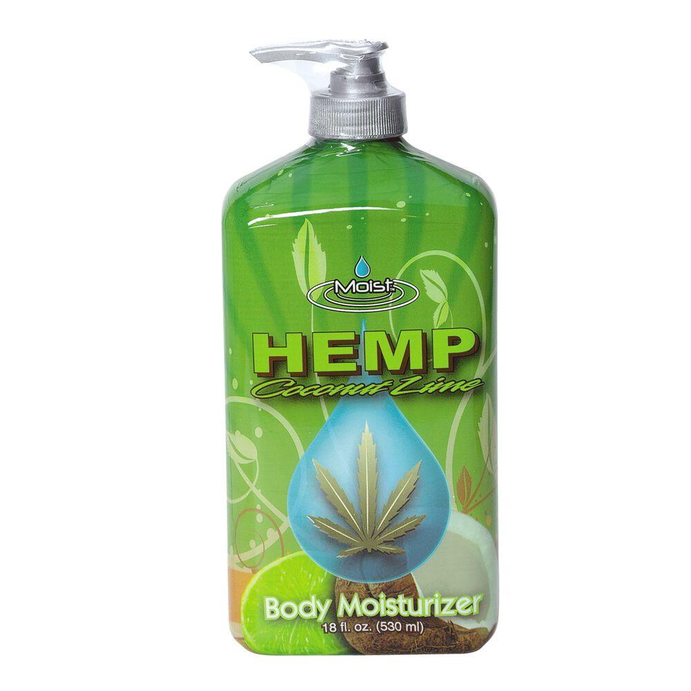 Hemp moisturizer body lotion