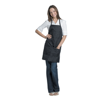 Black Salon Stylist Apron