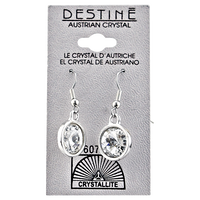 Destine Rivoli Dangle Earrings