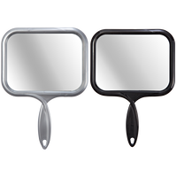 Large Rectangular Hand Held Mirror