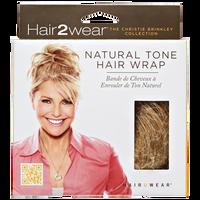 Medium Golden Blonde Natural Tone Hair Wrap