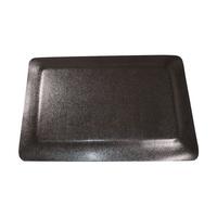 3'X5' Textured Black Double Sponge Floor Mat - Rectangle