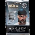 Black Do-Rag Wave & Curl Cap