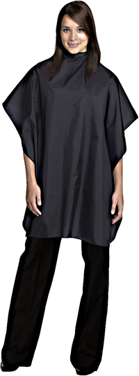 Black All Purpose Chemical Cape