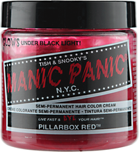 Pillarbox Red Semi Permanent Cream Hair Color
