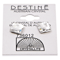 Destine Multiple Edge Crystal Earrings