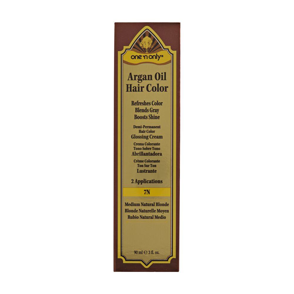 Argan Oil Hair Color Medium Natural Blonde