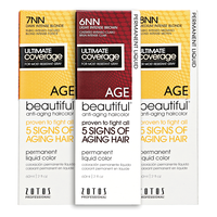 Anti Aging Permanent Liquid Hair Color NN Shades