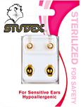White Pearl Sterilized Piercing Earrings