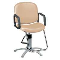 Pibbs Chameleon Wheat Styling Chair with 5 Star Base