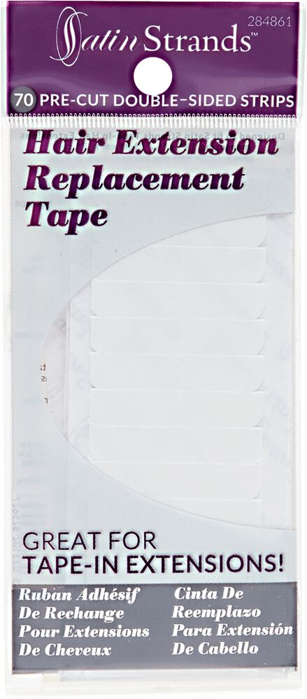 Satin strands hair extension replacement tape strips hair extension replacement tape strips pmusecretfo Choice Image