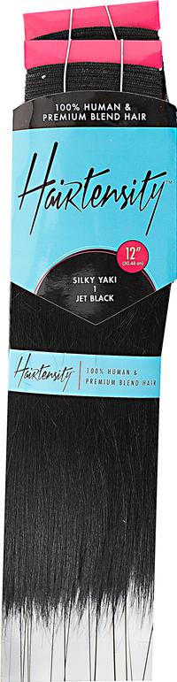 12 Inch Human & Premium Blend Hair