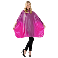Raspberry Solid Shampoo Cape