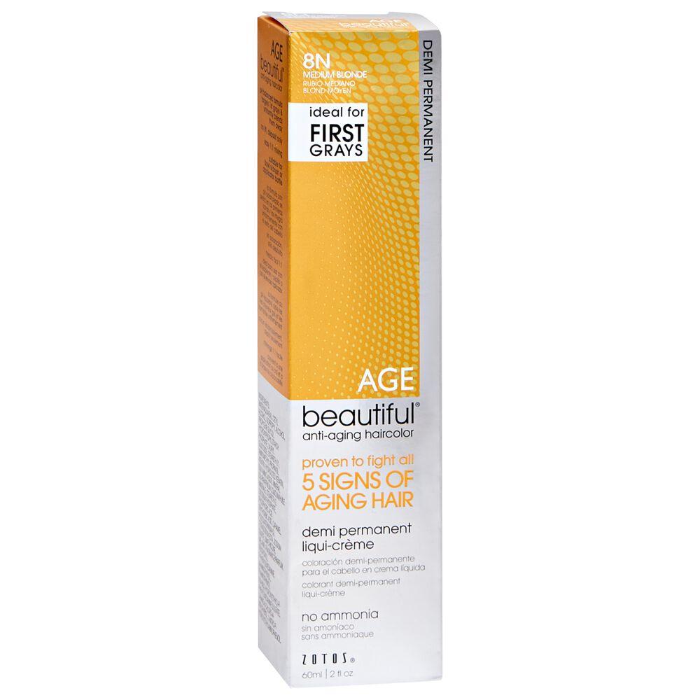 Agebeautiful Anti Aging Demi Permanent Liqui Creme Hair Color