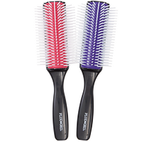 Silicone 9-Row Styling Brush