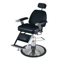 Pibbs Duke Barber Chair Model 651 - Black