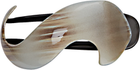 Beige Finish Side Comb