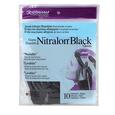 Nitralon Black Medium Nitrile Gloves
