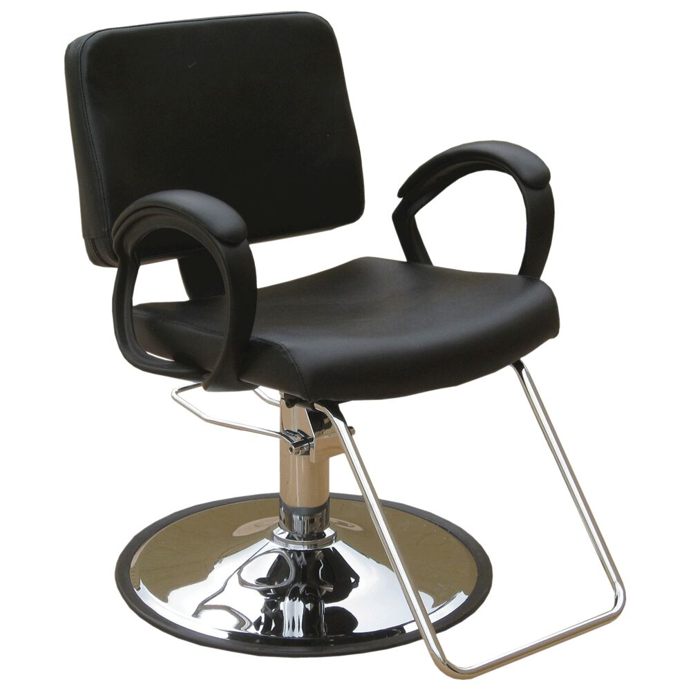 Puresana ava styling chair with base for Chairs in salon