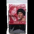 Black Satin Sleep Cap