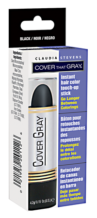 Black Temporary Color Touch Up Stick