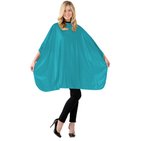 Solid Teal Shampoo Cape