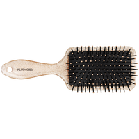 Rose Glitter Paddle Brush