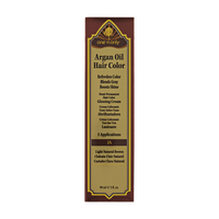 5N Light Natural Brown Demi Permanent Hair Color Glossing Cream