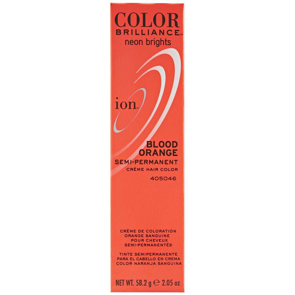 Ion color brilliance semi permanent neon brights hair color blood blood orange semi permanent hair color nvjuhfo Gallery