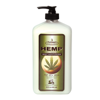 Moist Hemp Jasmine & Cucumber Body Moisturizer 18 oz.