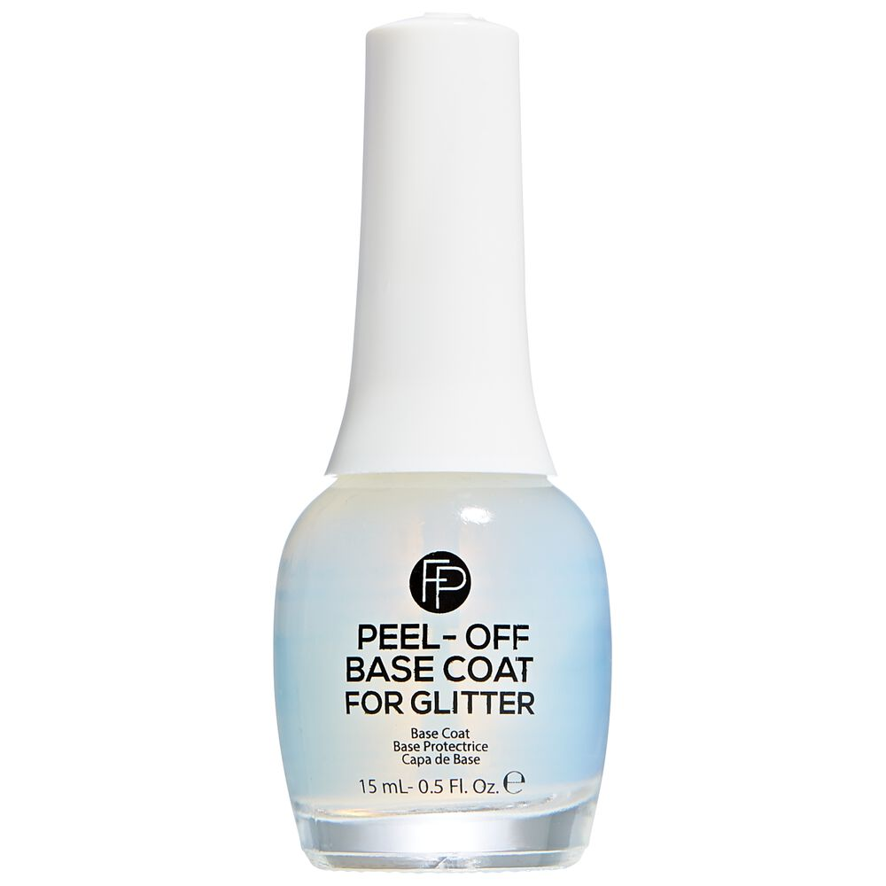 Best Nail Base Coat For Peeling Nails: FingerPaints Peel-Off Base Coat For Glitter