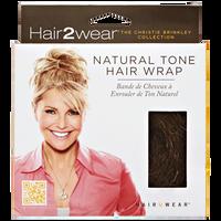 Medium Brown Natural Tone Hair Wrap