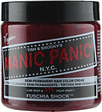 Fuschia Shock Semi Permanent Cream Hair Color