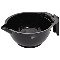 Hair Color Mixing Bowl in Black