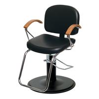 Samantha Styling Chair Black Base