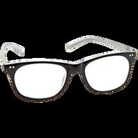 Black Pearlized 1.25 Reading Glasses