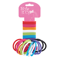 Children's Rainbow Ponytail Holders