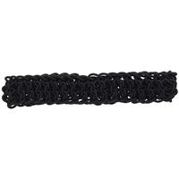 Black & Brown Stretch Woven Headwraps