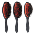 Natural Bristle Grooming Brush