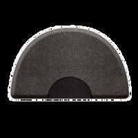 3 X 5 Granite Steel Round Mat with Chair Depression