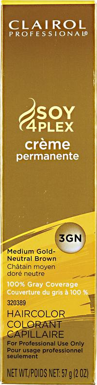 3GN Medium Gold Neutral Brown Premium Creme Hair Color