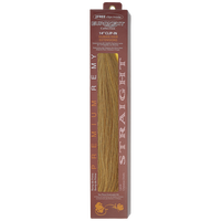 Clip In Caramel 14 Inch Human Hair Extensions