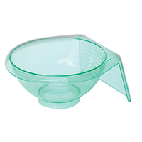 Clear Teal Tint Bowl