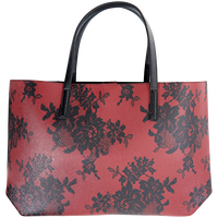 Holiday Tote Black Lace