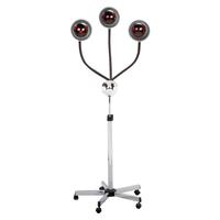 Three Head Infra-Red Heat Lamp