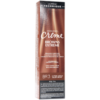 BR3 Medium Golden Brown Permament Creme Hair Color