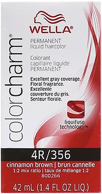 Cinnamon Brown Color Charm Liquid Permanent Hair Color