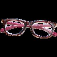 Ladies Fashion Readers Plastic Tortoise Pink 2.25
